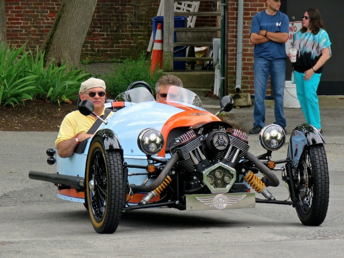 I loved the shift knob on this Morgan 3 Wheeler