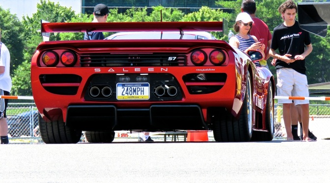 Saleen S7 Twin Turbo Competition at CF Charities