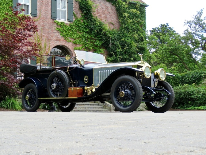 This 1914 Rolls Royce Silver Ghost Alpine Model took Best in Show at Misselwood