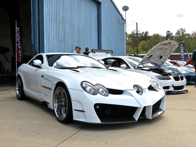 RENNtech SLR McLaren at First Class Fitment