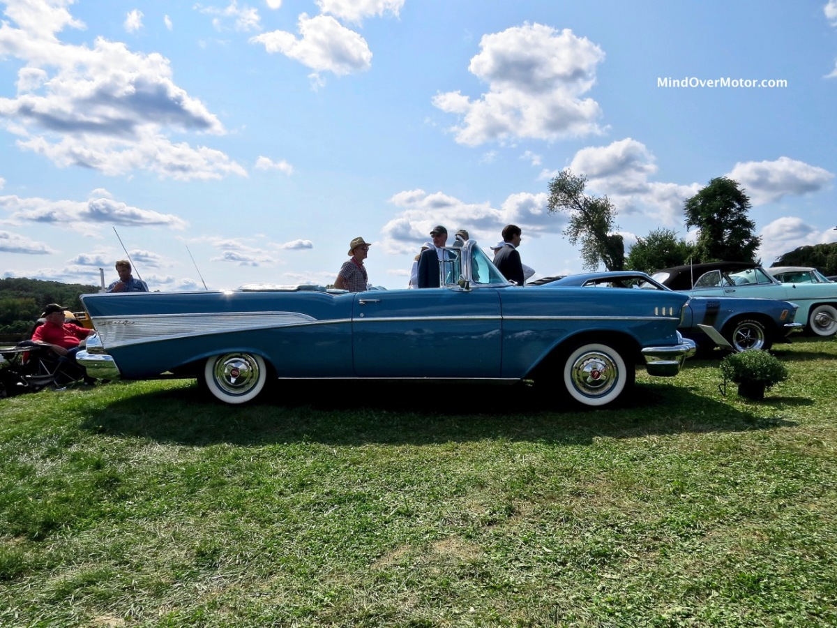 1957 Chevrolet Bel Air Convertible At The Radnor Hunt Concours Chevy Bellaire Mind Over Motor