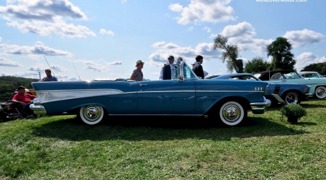 1957 Chevrolet Bel-Air Convertible at the Radnor Hunt Concours