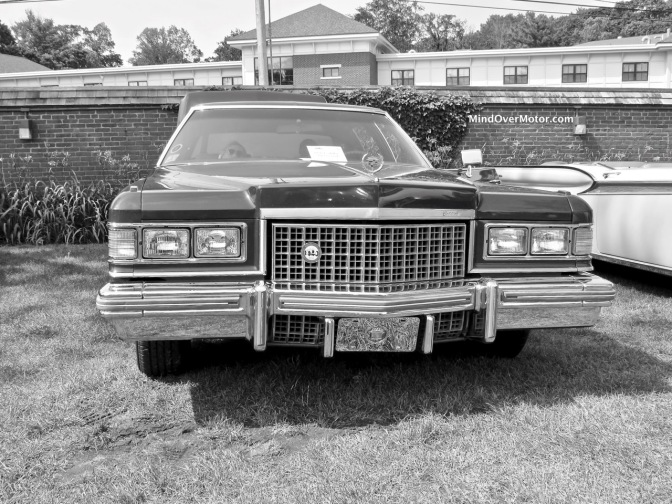 1976 Cadillac Fleetwood at the 2017 Misselwood Concours