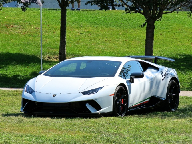 Lamborghini Huracan Performante at Driven By Purpose