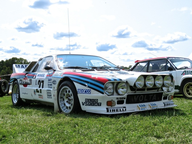 Lancia 037 Rally Car at Radnor Hunt