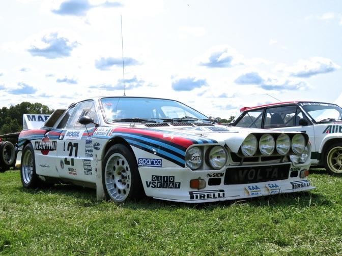 Lancia 037 Rally Car at Radnor Hunt