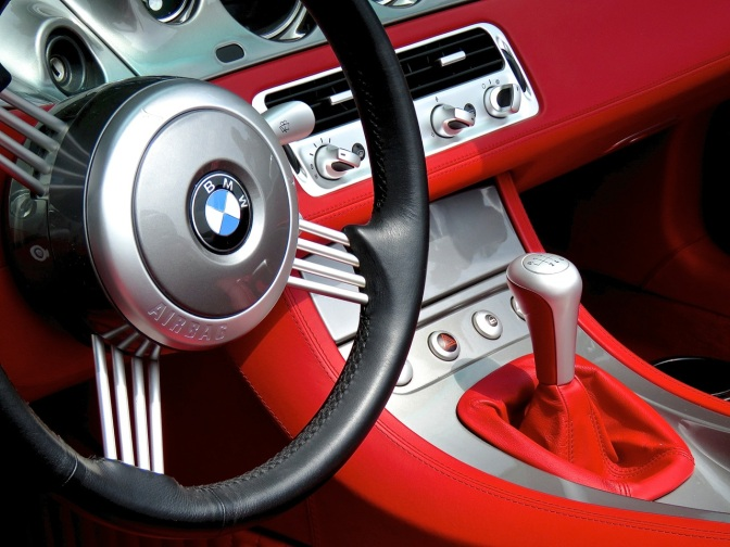 A BMW Z8 with a killer interior combo at the Misselwood Concours