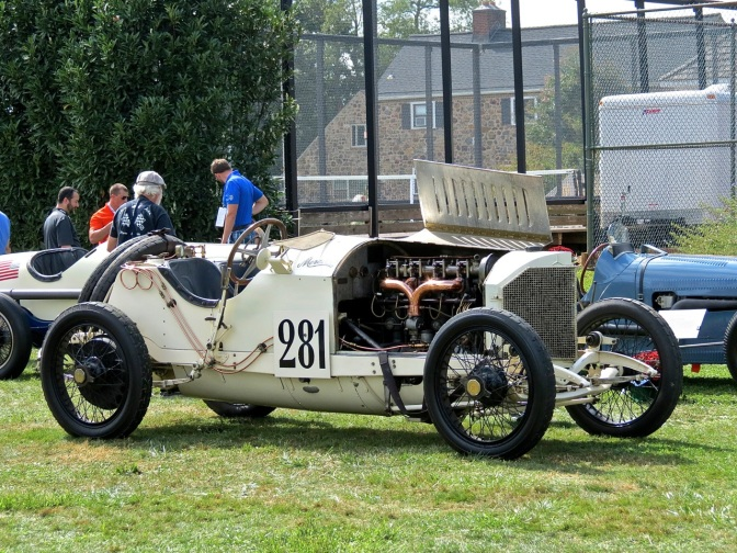 1912 Mercedes-Benz Grand Prix Special at Radnor Hunt