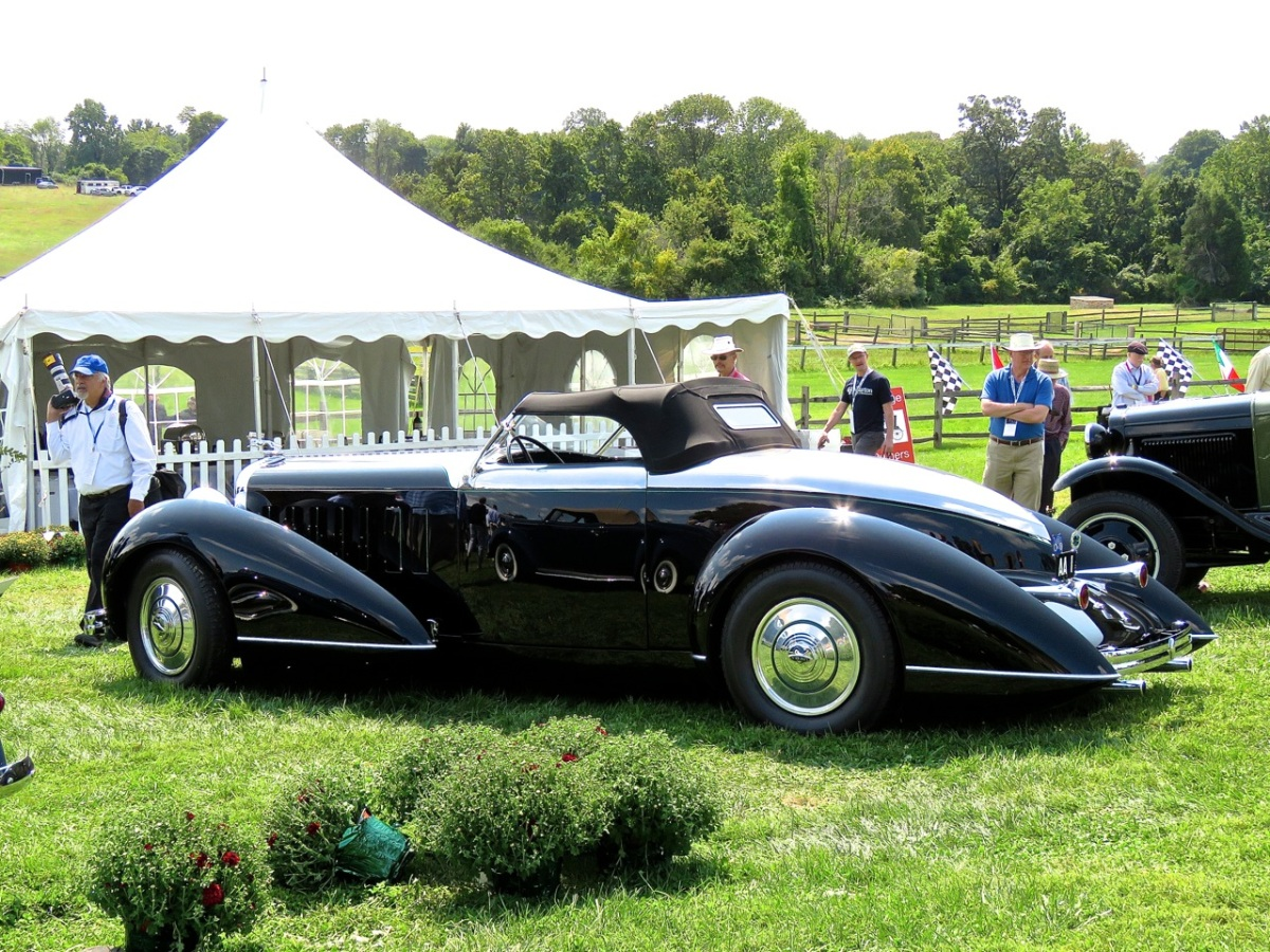 1932 Lincoln KB Boattail Speedster, by Marcel DeLay