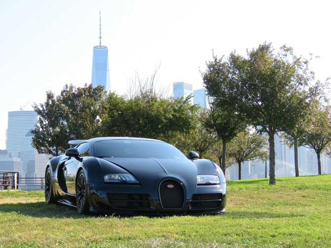 Bugatti Veyron Super Sport at Driven By Purpose