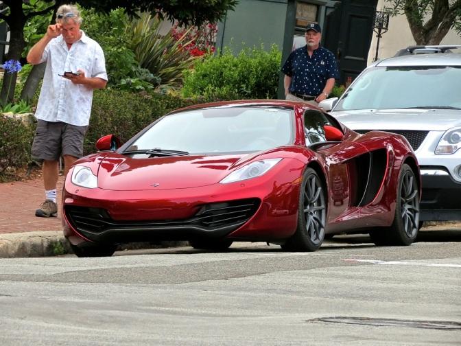 McLaren 12C Spider Spotted in Carmel, CA