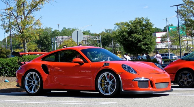 Porsche 991 GT3 RS at Cars and Caffe