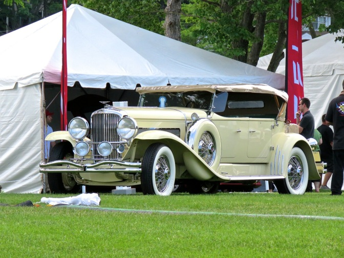 Duesenberg Model J at the Greenwich Concours