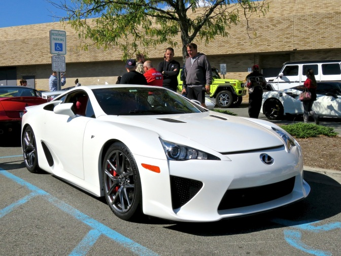 Lexus LFA at Cars and Caffe