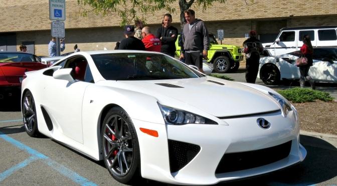 Lexus LFA at Cars and Caffe