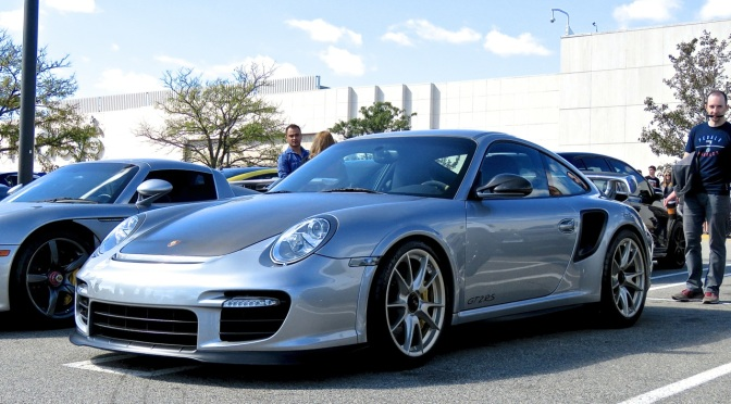 Porsche 997 GT2 RS at Cars and Caffe