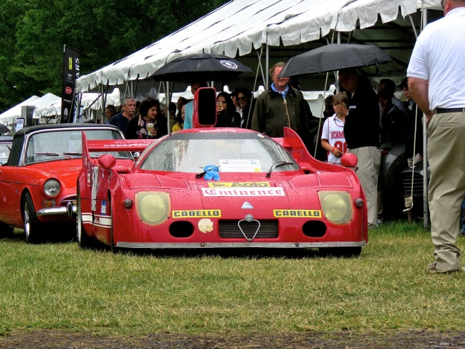 Alfa Romeo Tipo 33 Coupe by Nastasi Racing at Greenwich