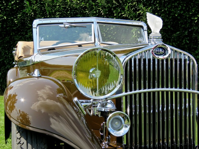 This spectacular 1934 Delage D8S Cabriolet is one of the most elegant French cars I've ever seen