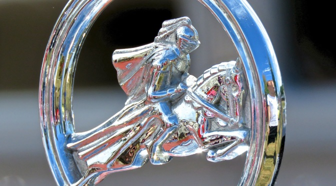 Check out the hood ornament on this Willys-Knight 66B Great Coupe