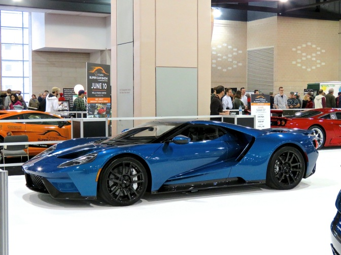 Ford GT at the Philadelphia Auto Show