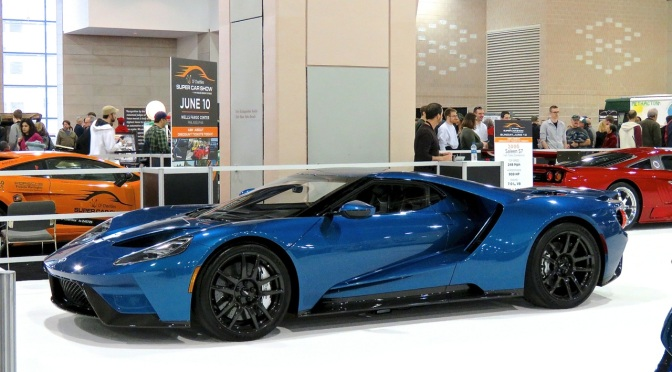 Ford GT At The Philadelphia Auto Show Mind Over Motor - Philly car show 2018