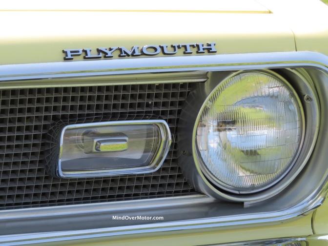 Mod Top 1969 Plymouth Barracuda at the 2017 Radnor Hunt Concours