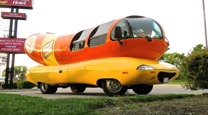 The Oscar Mayer Wienermobile Spotted in Nashville, TN