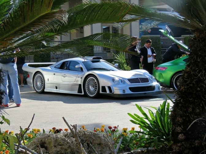 Mercedes CLK GTR Spotted at the Ritz Carlton, Amelia Island