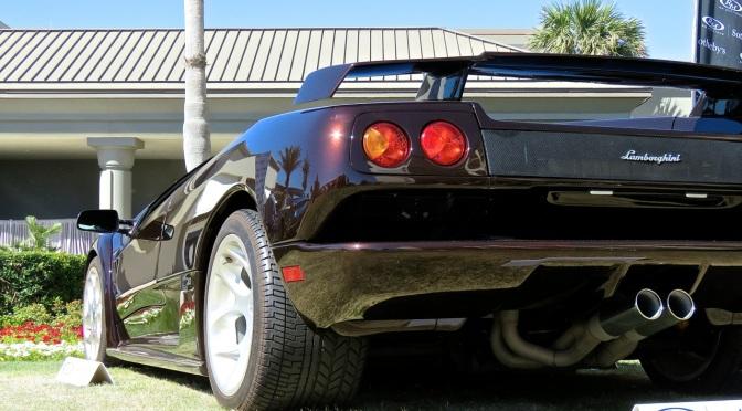 Witness the brown-est Lamborghini Diablo on Earth
