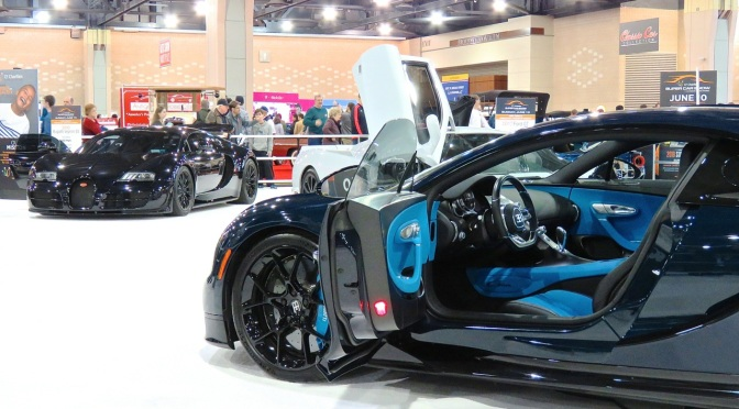The Bugatti Duo at the Philly Auto Show
