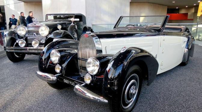 Pre-War Elegance at NYIAS: A Bugatti and a Packard