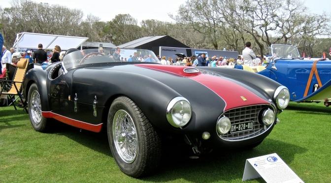 1953 Ferrari 166MM Barchetta by Oblin at Amelia Island