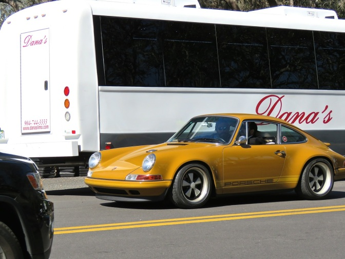 Porsche 911 reimagined by Singer spotted at Amelia Island