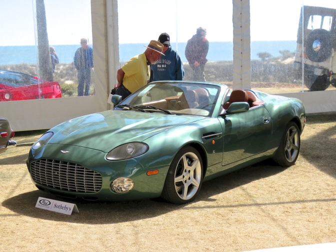Aston Martin DBAR1 Zagato at Amelia Island