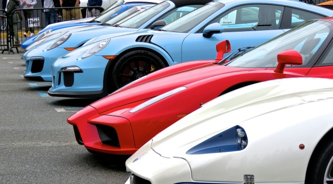 Highlights from the 2018 Cars and Caffe Season Opener