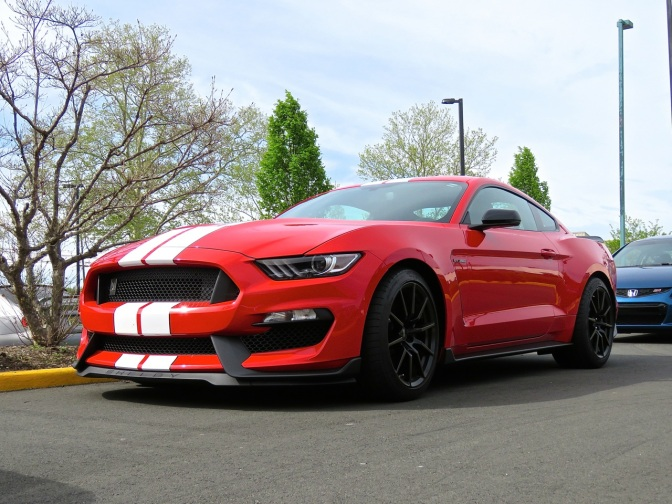 A Red Shelby GT350 for your Memorial Day