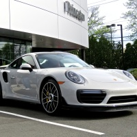 Porsche 911 Turbo S at Porsche of Princeton Cars & Coffee