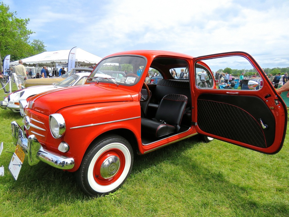 The Classic Fiat 600 of My Dreams at the Greenwich Concours