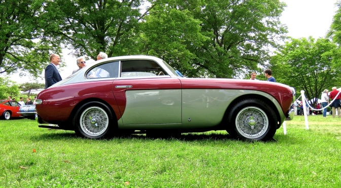 1950 Ferrari 195 S by Vignale at the Greenwich Concours