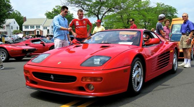 Ferrari 512M at Concorso Ferrari & Friends