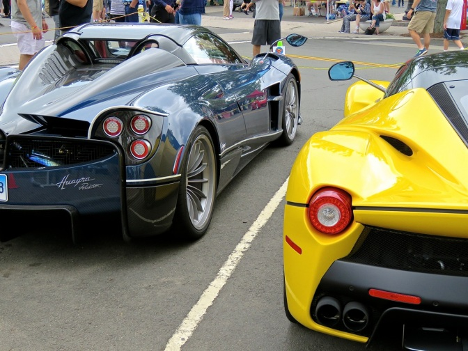 Highlights from Concorso Ferrari & Friend
