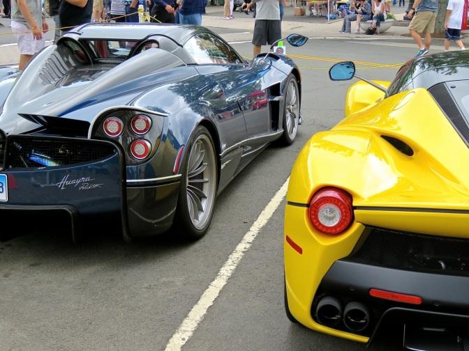 Highlights from Concorso Ferrari & Friend