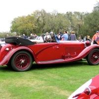 1934 Alfa Romeo 8C 2300 Figoni Cabriolet at Amelia Island
