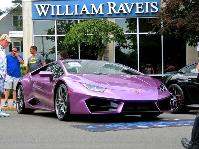 The Other Purple Lamborghini at Concorso Ferrari