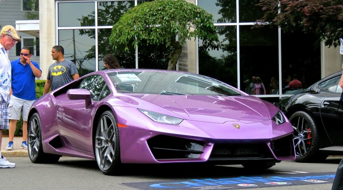 The Other Purple Lamborghini At Concorso Ferrari Mind Over Motor
