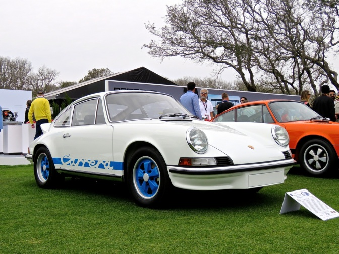 1973 Porsche 911 Carrera RS at Amelia Island