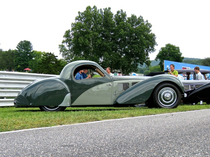 1937 Bugatti Type 57 SC Atalante at Lime Rock Park