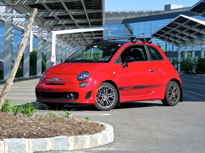 A tiny package with so much sting, my second take on the Fiat 500 Abarth