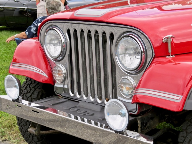 Jeep CJ-7 Laredo at Sunday in the Park at Lime Rock 2018