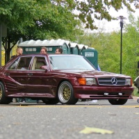 "1987 Mercedes 560 SEL Koenig Specials, the ""Raddest in Show"" at Radwood Philly"